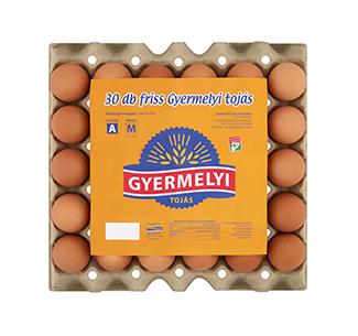Gyermelyi eggs 30 pcs/tray