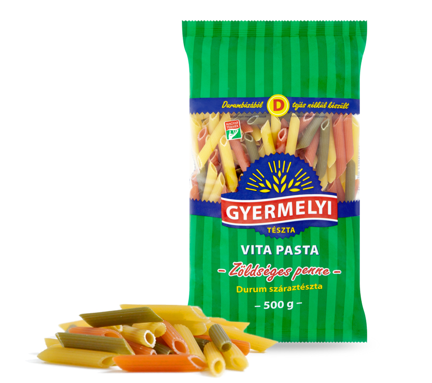 Vita Pasta Durum Coloured penne